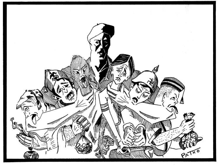 """Exposición """"Dibujantes en guerra. 1936-1939"""""""