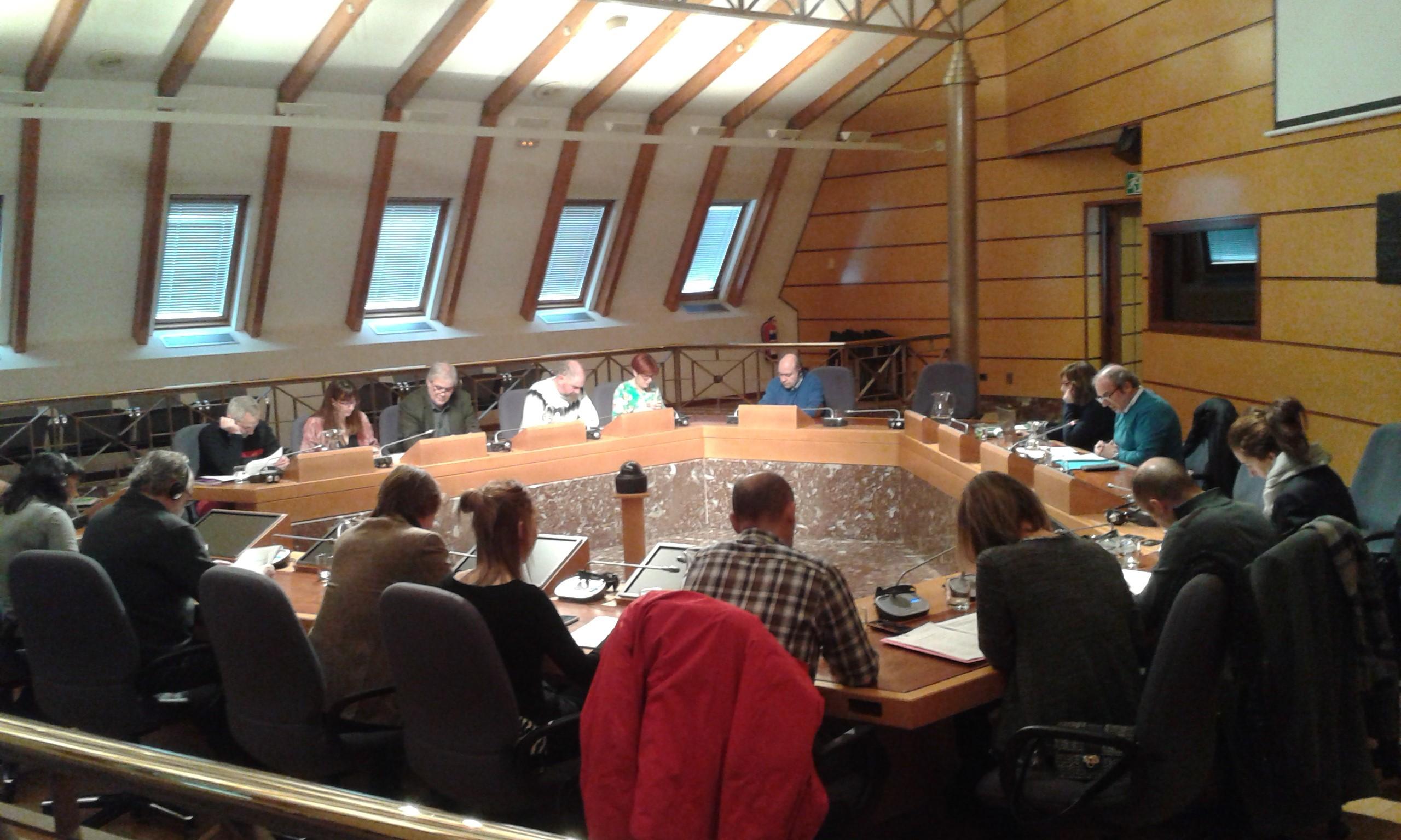 La Comisión de Euskera y Cultura de las Juntas Gen