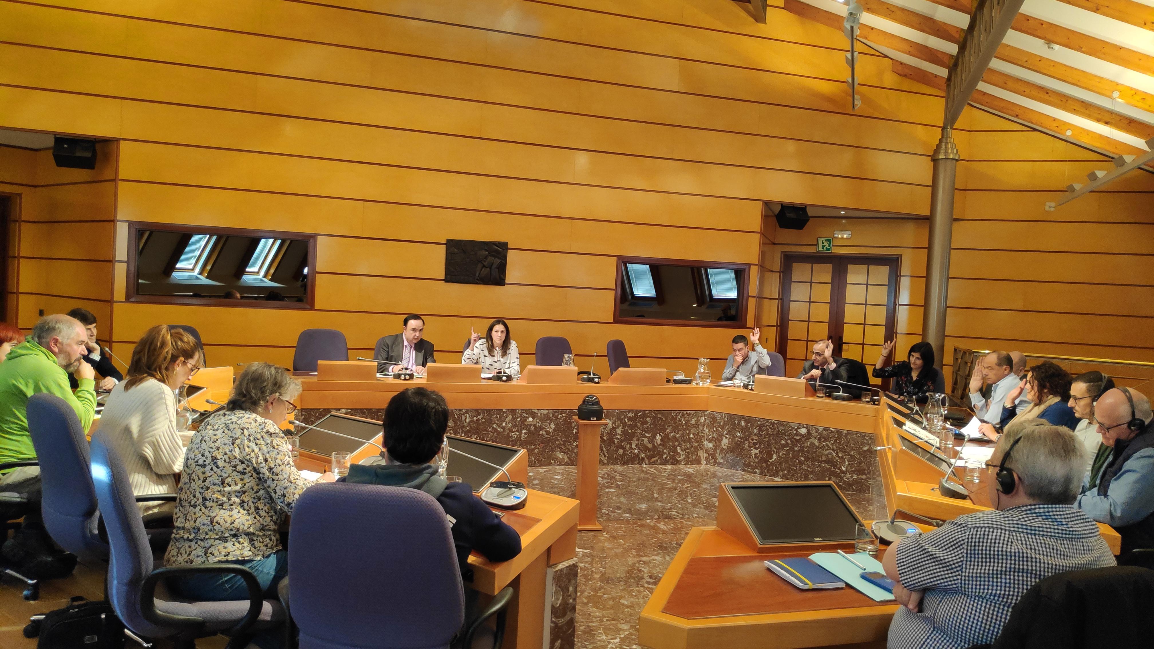Comisión Inst., Buen Gobierno y Transparencia